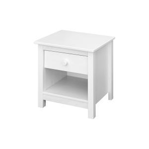 Nočný stolík TORINO biely