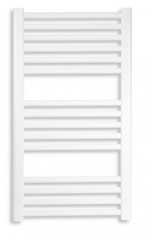 Novaservis 600/900,1 rebríkový radiátor 600 x 900 biely oblý