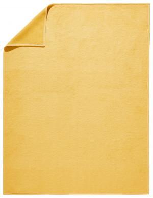 Novel DOMÁCA DEKA, 58 % bavlna, 150/200 cm - žltá