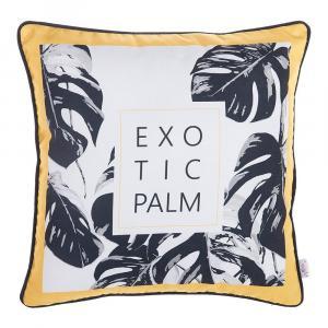 Obliečka na vankúš Apolena Exotic Palm, 43×43 cm