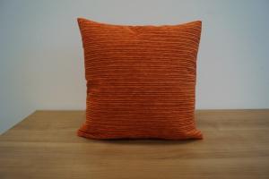 Obliečka na vankúš BARBORA Farba: Oranžová, Rozmery: 48 x 48 cm