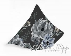 Obliečka na vankúš PESCARA Grey | Bavlnený makosatén | 40x40 cm