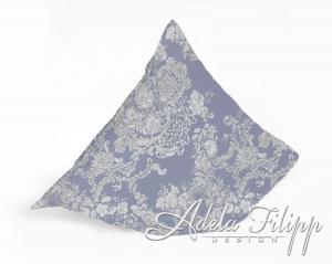 Obliečka na vankúš PLAZA Blue | Bavlnený makosatén | 40x40 cm