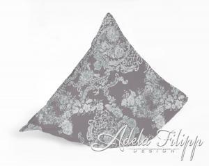 Obliečka na vankúš PLAZA Taupe| Bavlnený makosatén | 40x40 cm