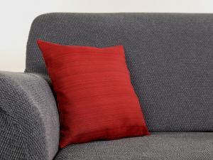 Obliečka na vankúš RITA Farba: červená, Rozmery: 38 x 38 cm