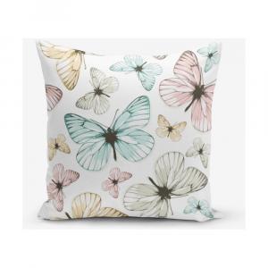 Obliečka na vankúš s prímesou bavlny Minimalist Cushion Covers Butterfly, 45×45 cm