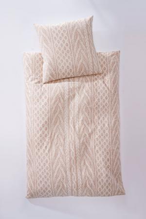 Obliečky Corda, krémové 135x200cm