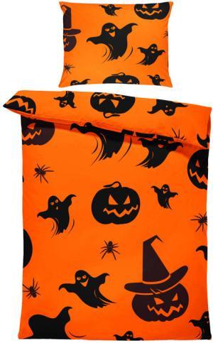 Obliečky Halloween vzor 2 (Rozmer: 1x140/220 + 1x90/70)