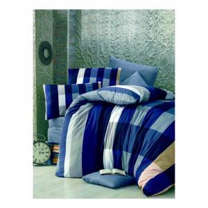 Obliečky na jednolôžko Parro Azul, 140×200 cm