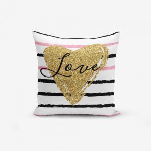 Obliečka na vankúš s prímesou bavlny Minimalist Cushion Covers Moderni, 45×45 cm