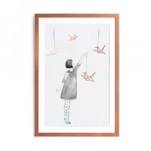 Obraz Little Nice Things Pajaritas, 40×60 cm