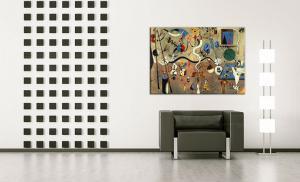 Obraz na plátne CARNIVAL OF HARLEQUIN – Joan Miro REP071