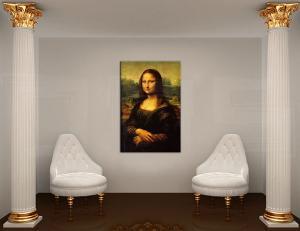Obraz na plátne MONA LISA – Leonardo Da Vinci  REP177
