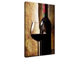 Obraz na plátne Suché víno 20x30cm 1230A_1S