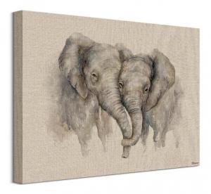Obraz na plátne Zamilované slony Bannon Jane 40x30cm WDC92978