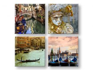 Obraz na stenu Venezia 4 dielny XOBKOL01E42