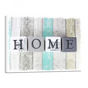 Obraz Styler Canvas Shabby Green Home, 32×42 cm