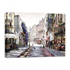 Obraz Styler Canvas Watercolor Paris II, 75×100 cm