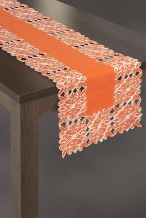 Obrus 40X140 cm - Eurofirany - Lao (oranžová) (1 ks). Akcia -11%. Sme autorizovaný predajca Eurofirany.