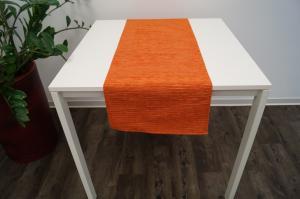Obrus BARBORA Farba: Oranžová,, Rozmer: 140 x 40 cm,