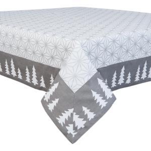 Obrus na stôl Let´s Stay Home - 100*100 cm