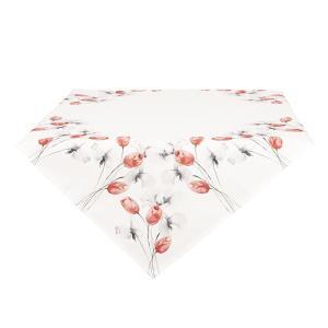 Obrus na stôl s tulipánmi - 85 * 85 cm