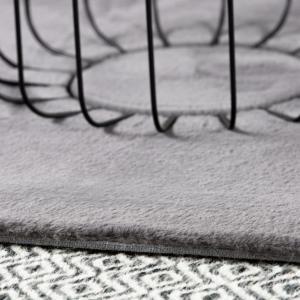 Obsession koberce Kusový koberec Cha Cha 535 silver kruh - 80x80 (průměr) kruh cm
