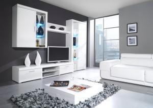Obývací stěna CAMA SAMBA B Barva: Bílá