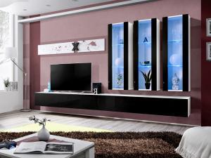 Obývacia stena AIR E 25 WS AI E3 (s osvetlením)