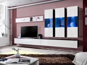 Obývacia stena AIR E 25 ZW AI E2 (s osvetlením)