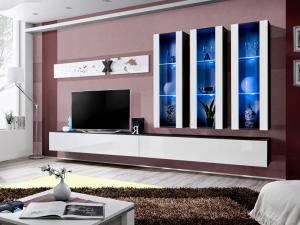 Obývacia stena AIR E 25 ZW AI E3 (s osvetlením)