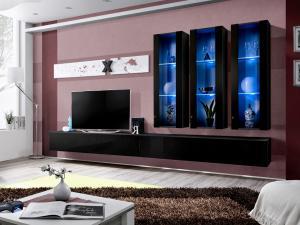 Obývacia stena AIR E 25 ZZ AI E3 (s osvetlením)