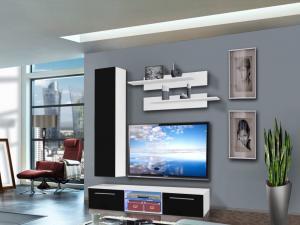 Obývacia stena Drada 25 WS DR D1 (s osvetlením)