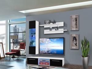 Obývacia stena Drada 25 WS DR F1 (s osvetlením)