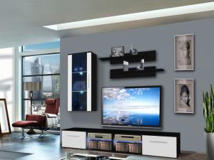 Obývacia stena Tubus 25 ZW TU G1 (s osvetlením)