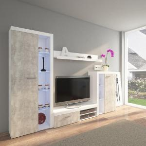 Obývacia stena Rumba beton