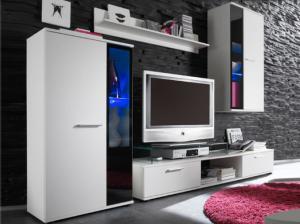 Obývacia stena Selena (biela)