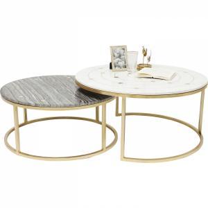 Odkládací stolek Mystic Round - set 2 ks