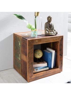 Odkladací stolík z recyklovaného dreva Kalkutta, 45 cm, mango