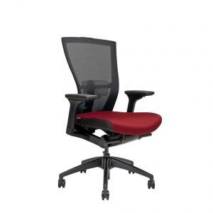 Office Pro kancelárska stolička MERENS BP vínová