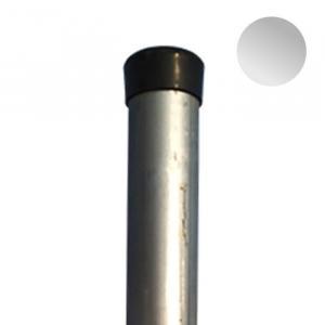 Okrúhly stĺpik pozinkovaný 48mm - STANDARD (vrátane čiapočky) OKRÚHLY stĺpik 48mm, výška:2.25m