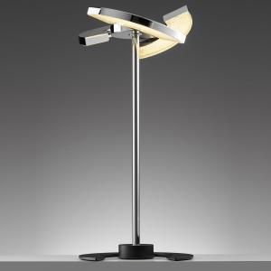 OLIGO OLIGO Trinity stolná LED, 3 pohyblivé segmenty