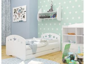 OR Detská posteľ Mery Design - biela Rozmer lôžka: 140x70
