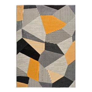Oranžovo-sivý koberec Universal Gladys Sarro, 160 × 230 cm