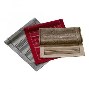 Oranžový behúň Floorita Velour, 55 x 115 cm