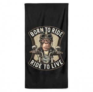 Osuška Born to ride