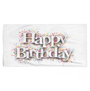 Osuška Happy Birthday