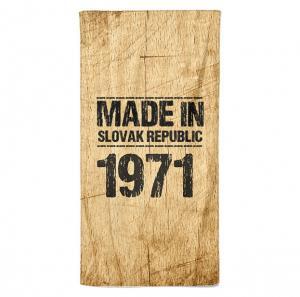 Osuška Made In (rok: 1971)