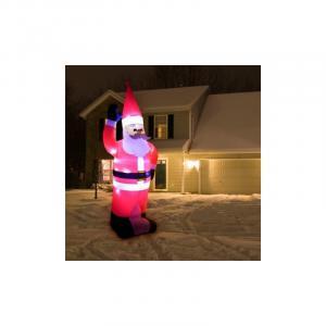 Osvetlený Santa 280 cm, nafukovací