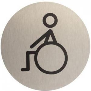 Označenie WC inox